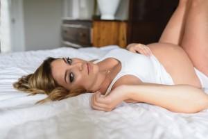 Miss D Maternity Boudoir