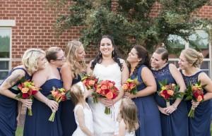 Bride: Lauren & Bridal Party